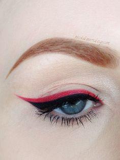 Red+Liner+https://www.makeupbee.com/look.php?look_id=89753