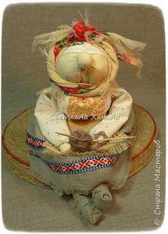 Куклы Шитьё ХарАктерные бабуськи народная кукла Ткань Шпагат фото 3