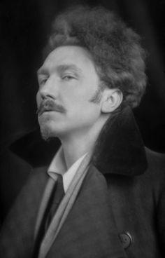 Famous Poet Ezra Pound, 1918