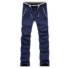 21.97$  Watch now - http://diwq9.justgood.pw/go.php?t=207132703 - Casual Straight Leg Drawstring Waist Pants 21.97$
