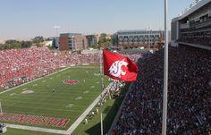 The renovated Martin Stadium, Sept. 8, 2012.