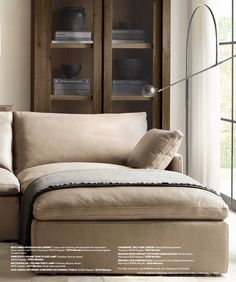 RH Source Books RH Modern 352 Furniture, Home, Love Seat, Rh Modern, Modular Sectional, Modern, Bed, Interior Design Styles, Couch Pillows