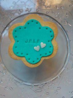 Simple wedding cookie