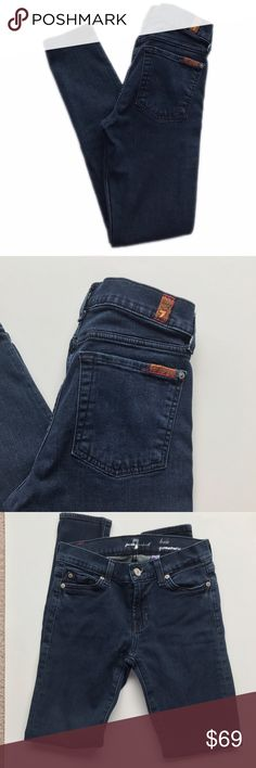 7 For All Mankind Lexie Gwenevere Jeans 98% Cotton / 2% Spandex 7 For All Mankind Jeans Skinny