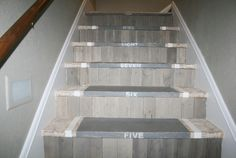 I love these stairs! Pallet idea?