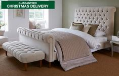 Explore our full range of DFS beds & mattresses. View all of our double beds and mattresses online now Sleigh Bed Frame, Sleigh Beds, Fabric Sleigh Bed, Super King Mattress, Comfort Mattress, Chesterfield Bed, Dreams Beds, H & M Home, Wooden Slats