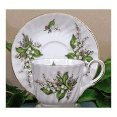 Lily of the Valley Fine Bone China - Cup & Saucer