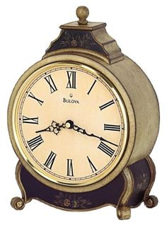 Bulova Davinia Biege Mantel Clock  B1931 ** You can find out more details at the link of the image.