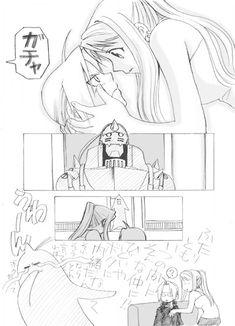 Ed x Winry Comic by Binchuca12