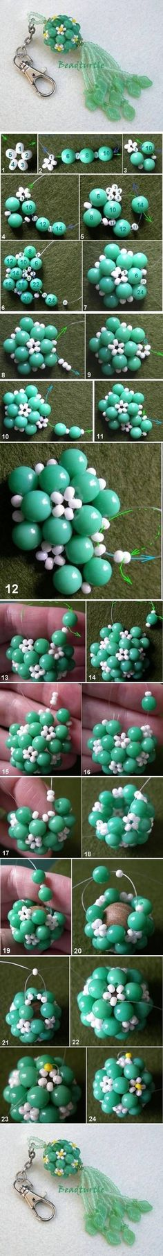 DIY Key Chain Beads Charm Pictures, Photos, and Images for Facebook, Tumblr, Pinterest, and Twitter