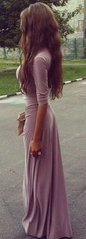 #summer #outfits / lavender dress