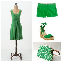Color of the week: Kelly Green. So vibrant!