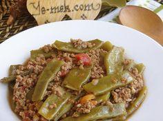 Kıymalı Taze Fasulye | Green Beans with Minced Meat