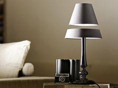 floating lamp  #Floating #Inspired #Designs #Optical #Illusion #Design #Opticalillusion Unique Lamps, Interior Lighting, Desk Lamp, Home Deco, Decoration Home, Office Lamp, Indoor Lights