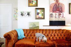 wall sconce as planter  Christi's Creative & Crafty Austin Apartment