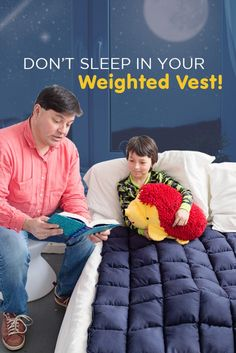 Don't Sleep in Your Weighted Vest   How to Use a Weighted Vest   Special Needs   Sensory Input