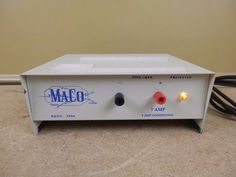 Maco Model 2006 DC Power Supply 7 Amp 5 Continuous For HAM Or CB Radio #Maco