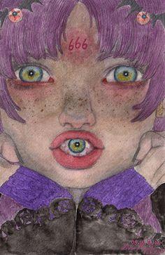Creepy Art, Weird Art, Pop Art Drawing, Art Drawings, Collage Des Photos, Grunge Art, Sad Art, Arte Horror, Hippie Art