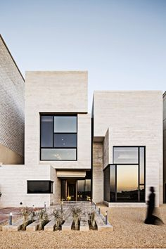 Saved by Inspirationde on Designspiration. Discover more Architecture Interior Design Street House inspiration. Architecture Design, Minimal Architecture, Residential Architecture, Contemporary Architecture, Contemporary Houses, Contemporary Design, Architecture Definition, Contemporary Building, Contemporary Apartment