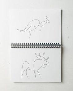 Diese Künstler zeichnen alles mit einem Strich
