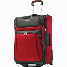 Most bags in this Samsonite luggage set also offer a wet pack for toiletries and dirty laundry.