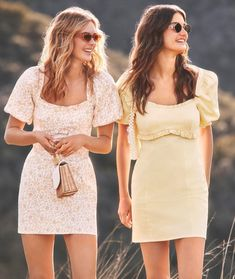 Blouse And Skirt, Blouse Outfit, Dress Skirt, Bright Summer Outfits, Topshop Style, Fashion Line, Buy Dress, Spring Summer Fashion, Nice Dresses