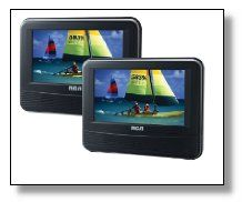 RCA DRC69705E-BLK2 Review  This handy little device is sure to keep you and your passengers full entertained while on the go. It boasts a wide range of compatibility options including DVDs, CDs, videogames, and everything in between.
