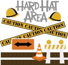 Hard Hat Area SVG construction svg file free svg files cute clipart svg files for scrapbookin
