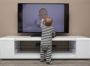 Protect Children from TV Tip-Overs