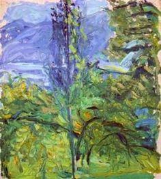 Small Traunsee Landscape - Richard Gerstl