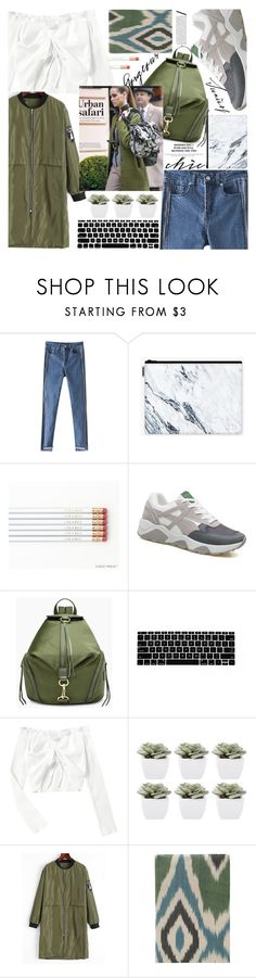 """""""Natural fabric in urban mode,all fashion style showed!"""" by jelena-bozovic-1 ❤ liked on Polyvore featuring Rebecca Minkoff, Abigail Ahern and Les-Ottomans"""