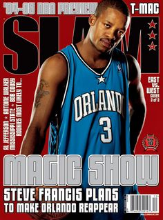 SLAM 83: Orlando Magic Stevie Francis appeared on the cover of the 83th issue of SLAM Magazine (2004, cover 1 of 2).