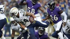 Watch San Diego Chargers vs Baltimore Ravens (live stream & scores here) football game: Chargers vs. Ravens in an action-packed Week 8 of the 2015 NFL seas Free Football, Watch Football, Online Tv Channels, Season Ticket, San Diego Chargers, Baltimore Ravens, Tv On The Radio, Seahawks, Rivera