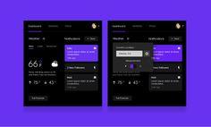 Yahoo! Landing Dashboard Module - Concept