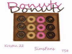 Sims Fans: Donuts decor by Kresten 22 • Sims 4 Downloads