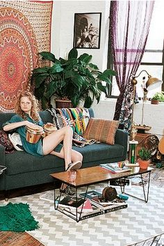 tapestry //  Breakfast at Fayme's: Home decorating inspiration; Boho Chic