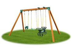 Assemble your own sturdy Wood Swing Set with quick and easy A-frame brackets from Eastern Jungle Gym. Visit us for Wooden Swing Set Accessories & parts. Cedar Swing Sets, Wood Swing Sets, Swing Sets For Kids, Kids Swing, Wooden Playhouse Kits, Wooden Playset, Build A Playhouse, A Frame Swing Set, Swing Set Hardware