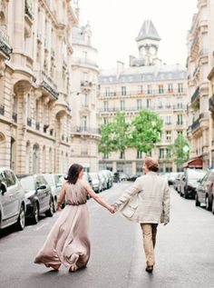 """Beautiful photo shoot in Paris. Love the """"cadenas d'amour"""" on the Lover's Bridge photos over the Seine!"""