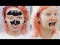 DIY: Węgiel sposobem na zaskórniki i białe zęby ♡ Red Lipstick Monster ♡ - YouTube