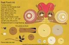 Alex's Creative Corner: Snail Valentine