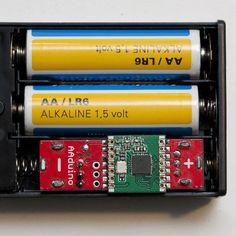 The AAduino Is An Arduino In An AA Battery