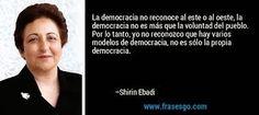 En Zona Feminista: Mujeres Ganadoras del Premio Nobel (XXXVI). Shirin Ebadi