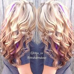 This is kinda what I'm fixing to do, but chunkier highlights in blue and purple