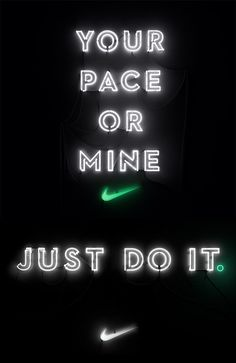 Nike We Own The Night by Shane Griffin. Neon Art//Neon LOVE!!!