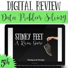 Patrick's Day Multi-Step Problem Solving – Digital Stinky Feet Ordering Decimals, Multiplying Decimals, Dividing Decimals, Operations With Fractions, Digital Review, Simplifying Expressions, Review Games, Cooperative Learning, 5th Grade Math