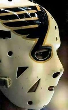 Ed Staniowski Hockey Goalie, Hockey Games, Hockey Players, Blues Nhl, Goalie Mask, Good Old Times, Masked Man, Masks Art, Helmet