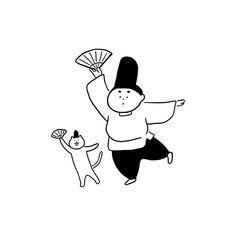 People Illustration, Illustration Girl, Character Illustration, Digital Illustration, Doodle Diary, Name Card Design, Simple Cartoon, Art Sketchbook, Cute Drawings