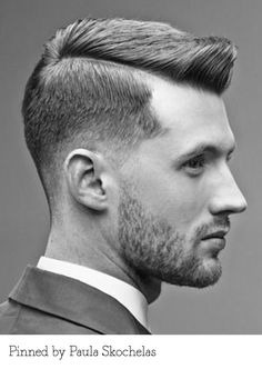 Classic barbering. Pinned by Paula Skochelas. Recreate it at... http://myhairdressers.com/hairdressing-training/classics-hair-cutting/tim-hartley-mens-graduation-disconnection.html