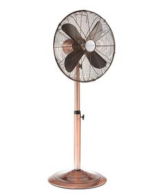 "hunter all-metal 16"" stand fan, oil rubbed bronze 