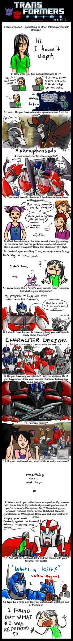 Transformers Prime Meme by BrookRiver.deviantart.com on @DeviantArt